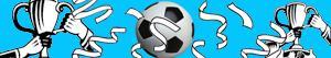 Ζωγραφική Ποδόσφαιρο - πρωτοπόροι των εθνικών πρωταθλημάτων στην Ευρώπη ζωγραφιές