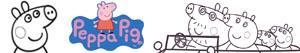 Ζωγραφική Peppa Pig ζωγραφιές