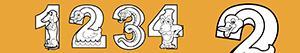 Ζωγραφική Αριθμοί όπως το ζώων ζωγραφιές